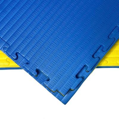 Будо-мат желто-синий prc 1*1 м (40 мм) в наличии в магазине Сайд-Степ