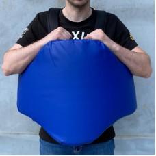 Пояс тренера (тент) синий