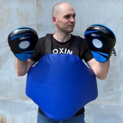 Пояс тренера (тент) синий в наличии в магазине Сайд-Степ