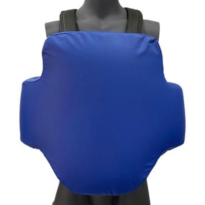 Жилет защитный тренерский (тент) синий в наличии в магазине Сайд-Степ
