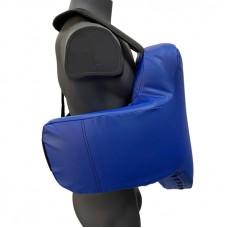 Жилет защитный тренерский (тент) синий