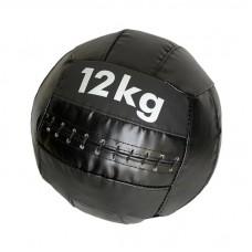 Медбол 12 кг черный