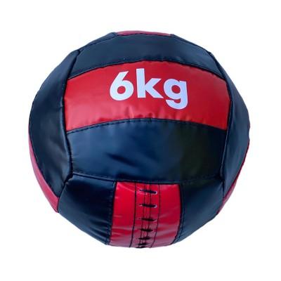 Медбол 6 кг черно-красный в наличии в магазине Сайд-Степ