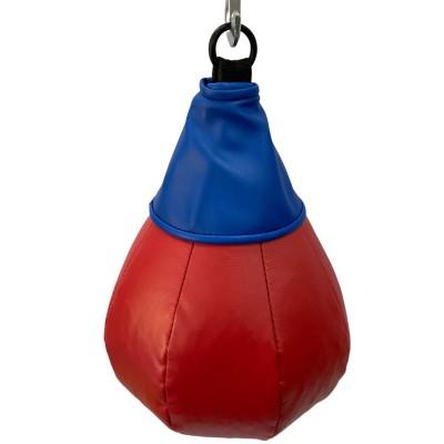 Боксерская груша на кольце 7 кг красно-синяя в наличии в магазине Сайд-Степ