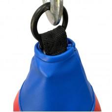 Боксерская груша на кольце 7 кг красно-синяя