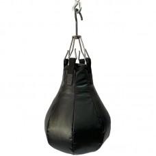 Боксерская груша на подвес 20 кг черная