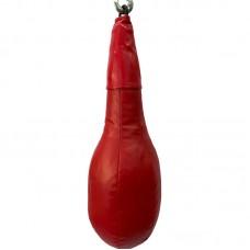 Боксерская груша удлиненная на кольце красная 10 кг