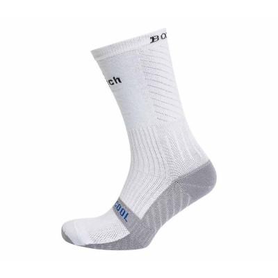 Носки боксерские Clinch бело-серые в наличии в магазине Сайд-Степ