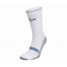 Носки боксерские Clinch бело-серые