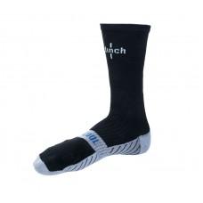 Носки боксерские Clinch черно-серые