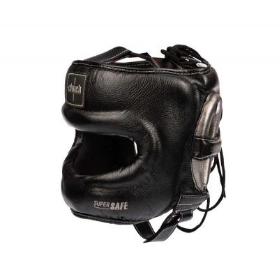 Боксерский шлем с бамперной защитой Clinch черно-бронзовый в наличии в магазине Сайд-Степ