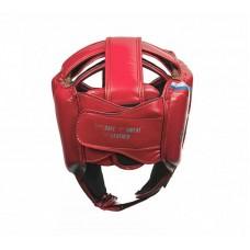 Шлем боксерский Clinch dual красный