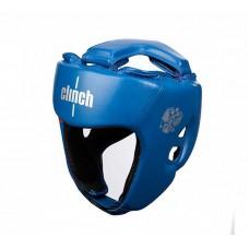 Шлем боксерский Clinch dual синий