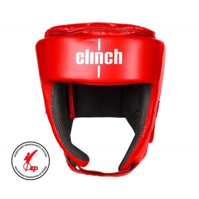 Шлем боксерский Clinch kick красный в наличии в магазине Сайд-Степ