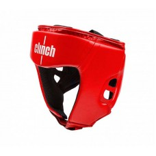 Шлем боксерский Clinch olimp красный