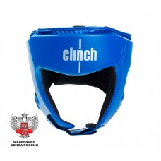 Шлем боксерский Clinch olimp синий