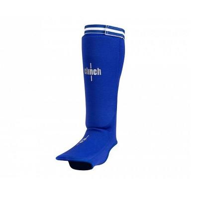 Тканевая защита ног Clinch синяя - Сайд-Степ магазин спортивной экипировки