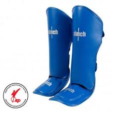 Защита голень-стопа Clinch guard kick синяя