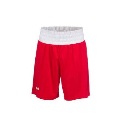 Шорты боксерские детские Clinch olimp красные | Сайд-Степ