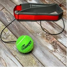 Боксерский мячик на голову Cobra зеленый