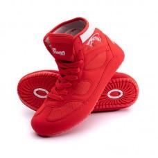 Детские борцовки Cobra красные