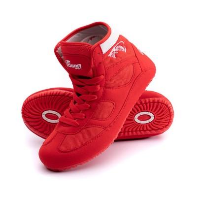 Борцовки Cobra красные в наличии в магазине Сайд-Степ