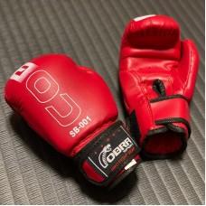 Детские боксерские перчатки Cobra красные