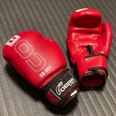 Детские боксерские перчатки Cobra красные в наличии в магазине Сайд-Степ
