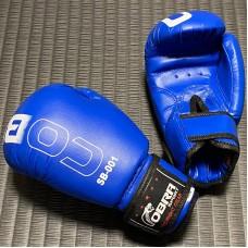 Детские боксерские перчатки Cobra синие