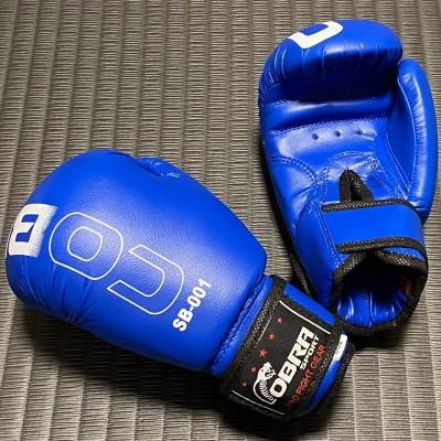 Детские боксерские перчатки Cobra синие в наличии в магазине Сайд-Степ