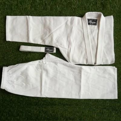 Кимоно для дзюдо Cobra silver белое (с поясом) - Сайд-Степ магазин спортивной экипировки