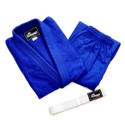 Кимоно для дзюдо Cobra gold синее (с поясом) | Сайд-Степ