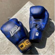 Боксерские перчатки Danger army edition blue sl