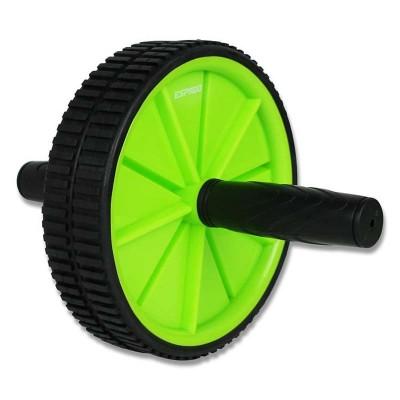 Ролик для пресса Espado двойной черно-зеленый в наличии в магазине Сайд-Степ