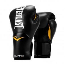Боксерские перчатки Everlast elite prostyle черные