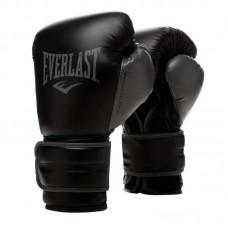 Боксерские перчатки Everlast powerlock pu 2 черные