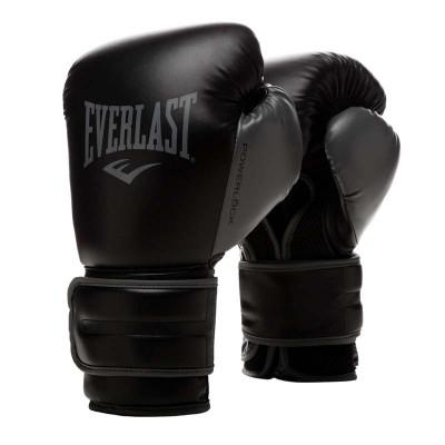 Боксерские перчатки Everlast powerlock pu 2 черные в наличии в магазине Сайд-Степ
