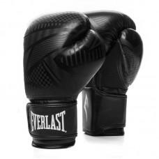 Боксерские перчатки Everlast spark черные