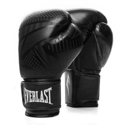 Боксерские перчатки Everlast spark черные в наличии в магазине Сайд-Степ