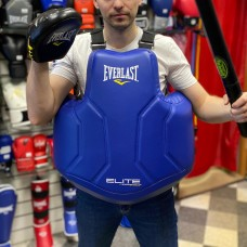 Жилет защитный тренерский Everlast elite pu синий