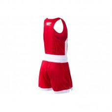 Боксерская форма Green Hill interlock красная