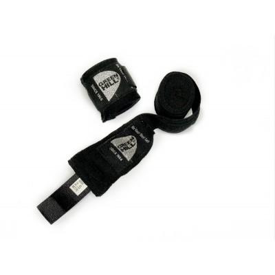 Боксерские бинты Green hill эластик черные 2,5 м | Сайд-Степ
