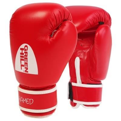 Детские боксерские перчатки Green Hill hamed красные - Сайд-Степ магазин спортивной экипировки