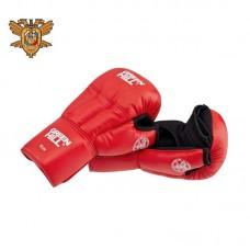 Перчатки для рукопашного боя Green Hill approved OFRB красные (кожа)