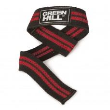 Лямки для тяги Green Hill черно-красные
