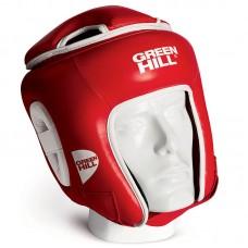Боксерский шлем Green Hill win красный