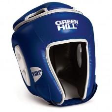 Боксерский шлем Green Hill win синий