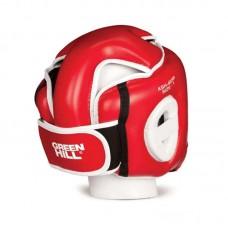 Детский шлем для кикбоксинга Green Hill win красный