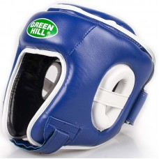 Детский шлем для кикбоксинга Green Hill win синий