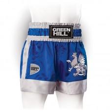 Шорты для единоборств Green Hill eagle синие